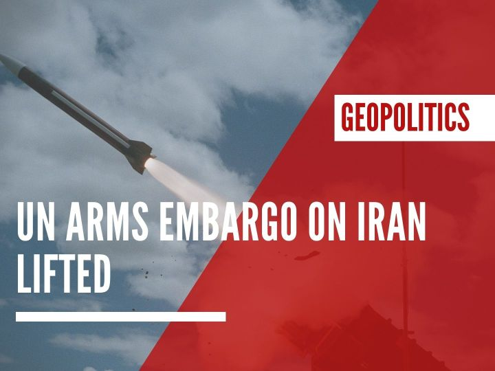 UN arms embargo on Iran lifted