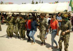5th anniversary of the Revolution in Kobanê