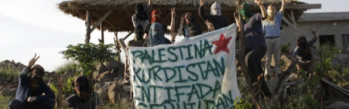 Palestina, Kurdistan! Intifada, serhildan! – Solidarity with the Palestinian struggle, against the brutality of the Israeli state