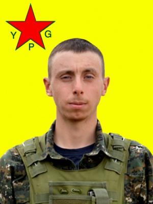 Şehîd Givara Rojava (Carl Evans)