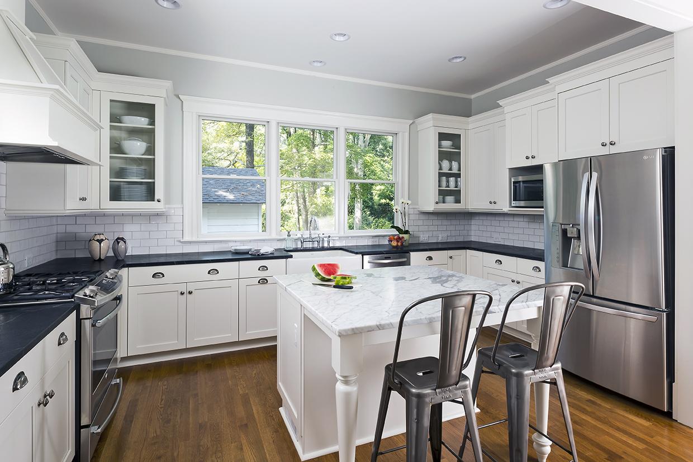 Beautiful Black  White Kitchen  International Kitchen