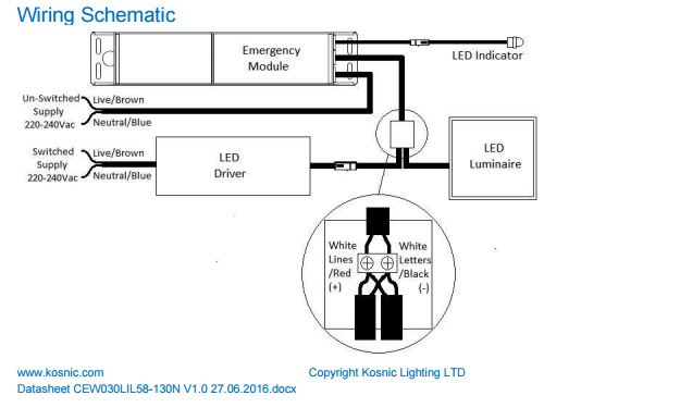 4 lamp led wiring diagram