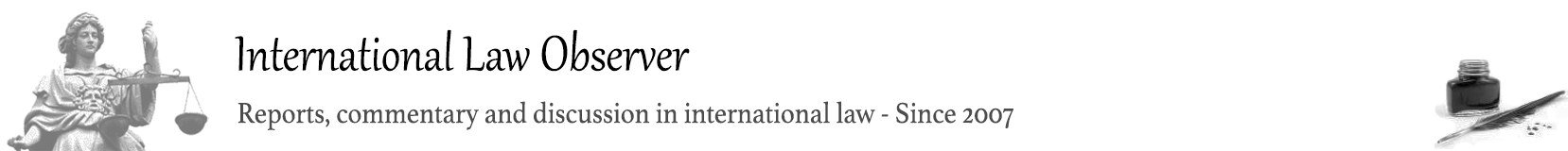 International Law Observer