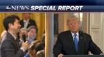 Fricción entre Trump y un periodista japonés por una pregunta no entendida