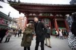 Japón registra cifra récord de visitantes extranjeros en enero