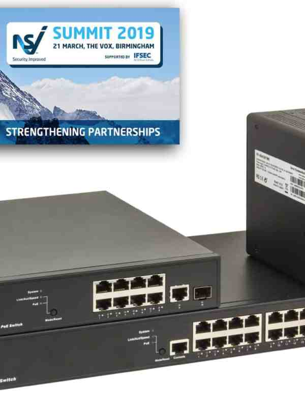 barox IP video switch range on display at NSI Summit 2019