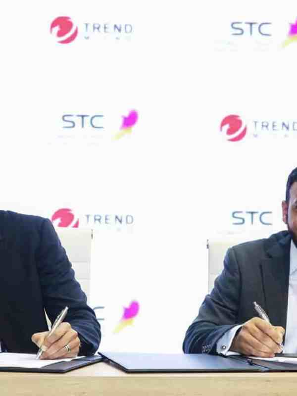 STC Solutions and Trend Micro sign MOU at MWC Barcelona 2019