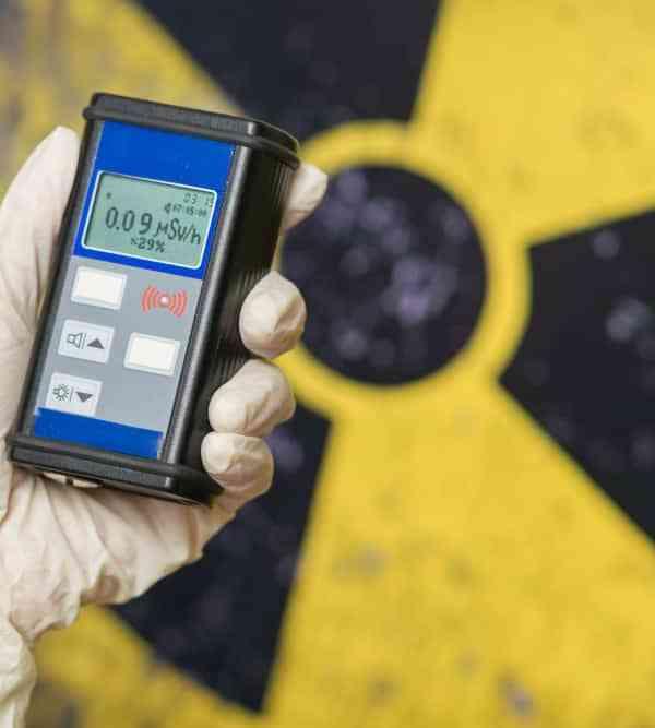 Advanced Radiation Detector MP100 designed for portable application