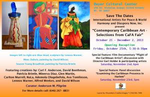 Contemporary Caribbean Art at the Dwyer Center, Harlem, NYC
