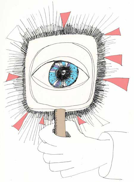 Eyes-without-eyes