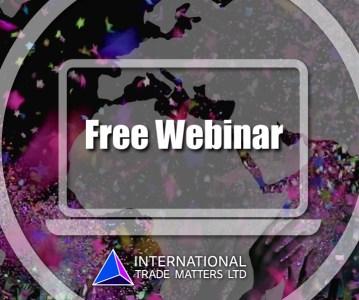 Free Webinar – Using PR To Drive Export Sales