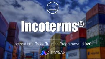 Incoterms Course
