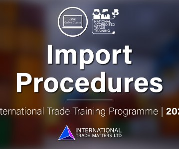 Import Procedures – An Online Course