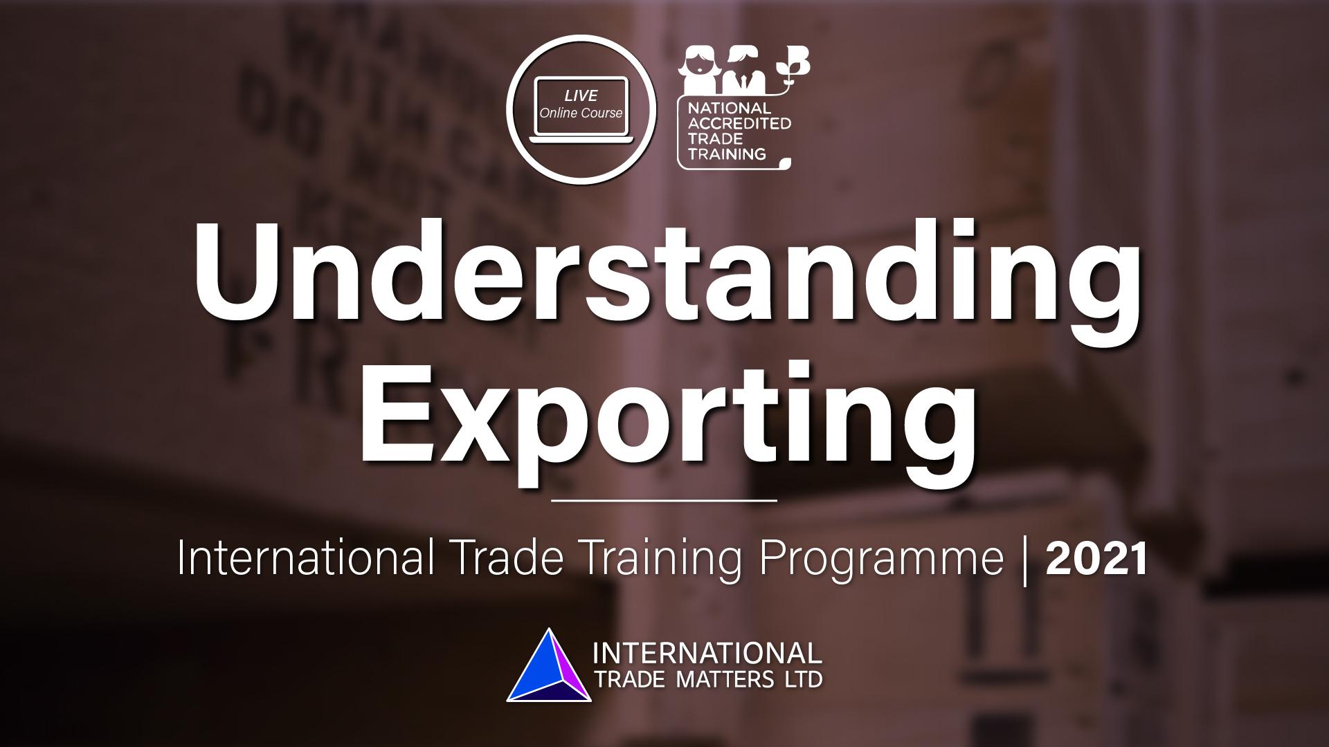 Understanding Exporting - An Online Course