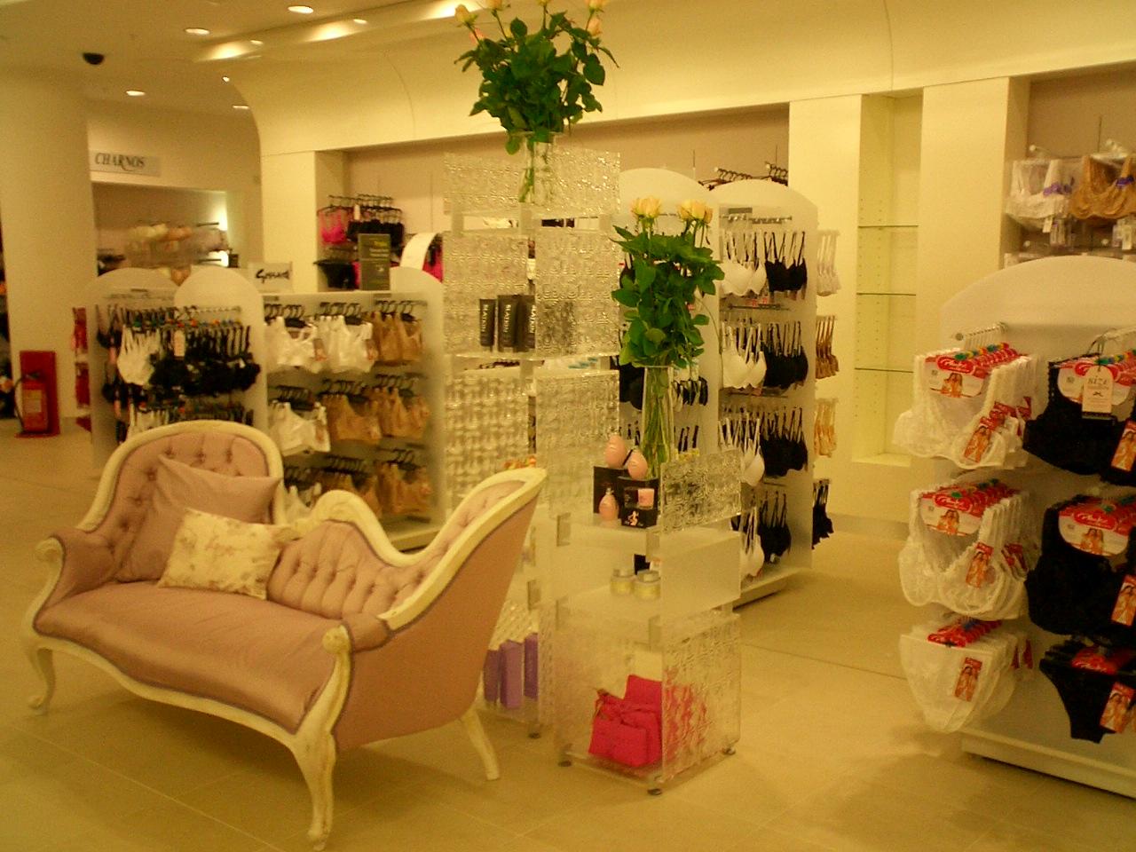 Lingerie Store Ideas  Inspiration  International Visual