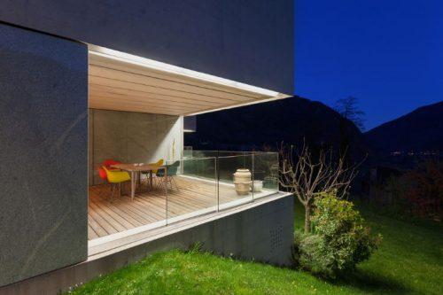 Terrace solar deck lights