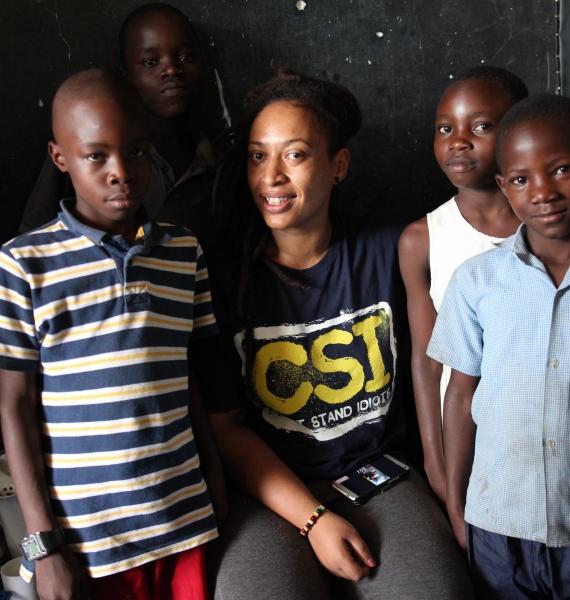 Benefit album w/ Kenyan star