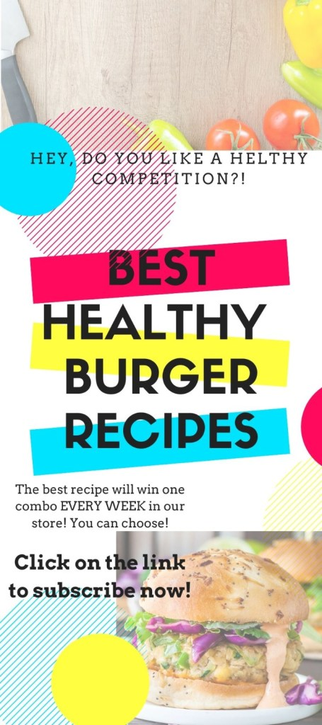 COMPETITION burger healthy food best choice