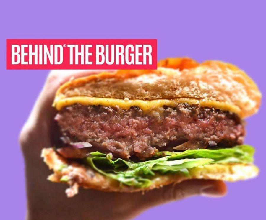 behind burger