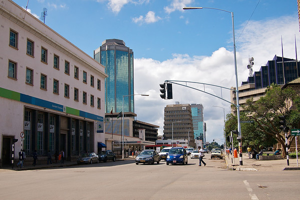 Sam Nujoma Street (Formerly 2nd Street) ©2010 Jason Hindle