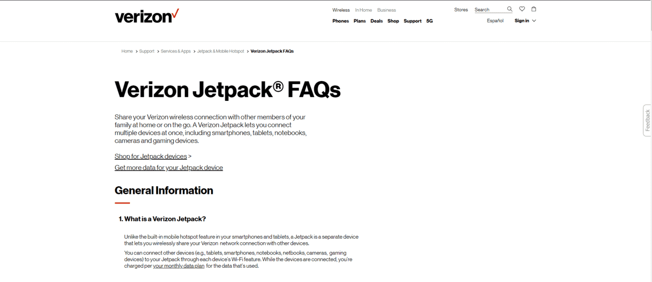 What Is A Verizon Jetpack Device And Should You Use It