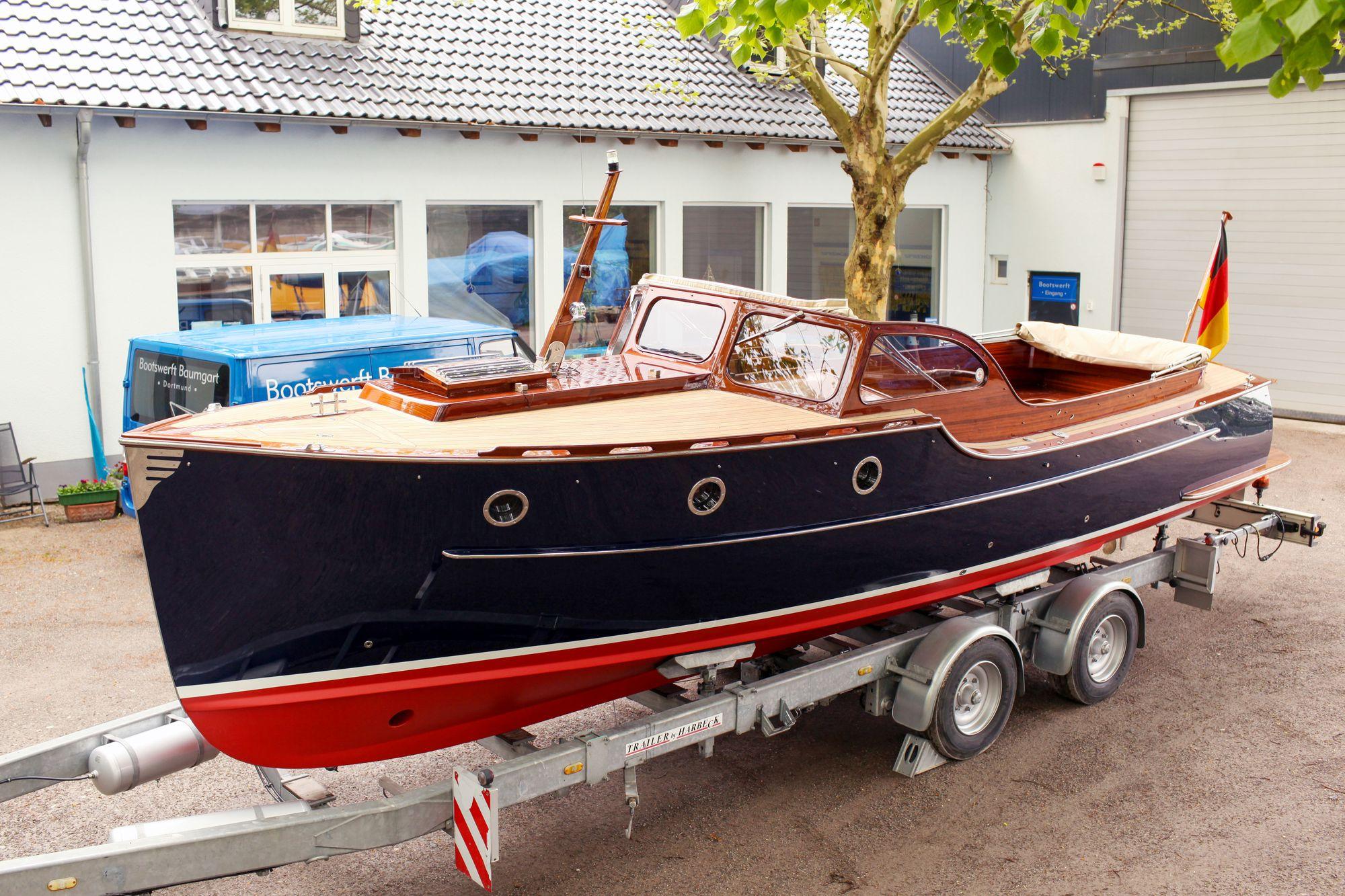 Rapsody 29C in der Bootswerft Baumgart Dortmund