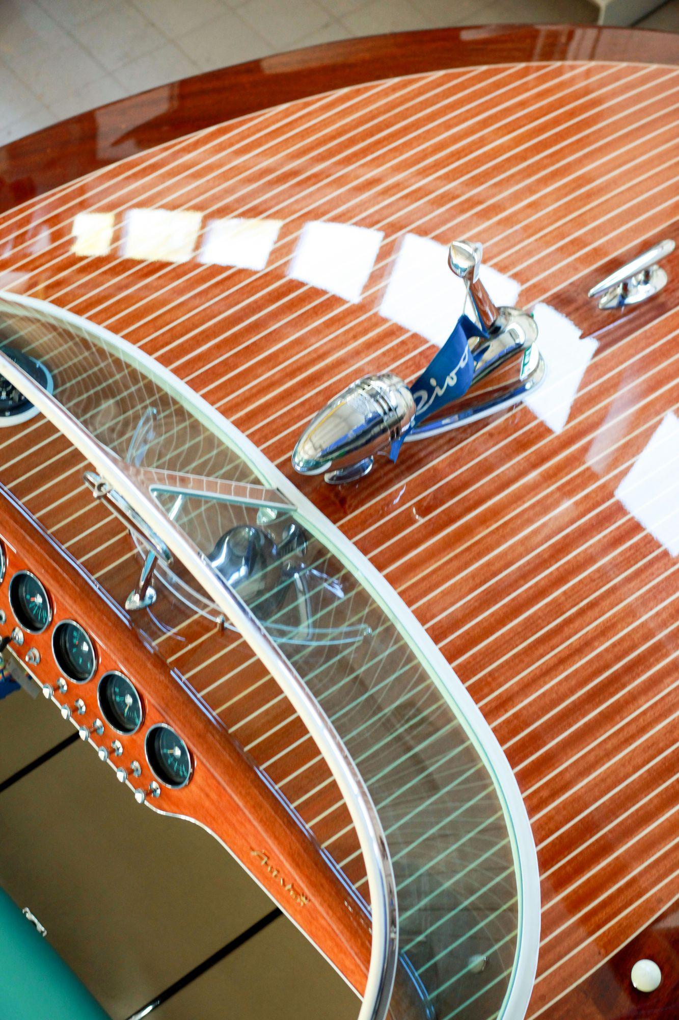 Riva Ariston in der Bootswerft Baumgart Dortmund