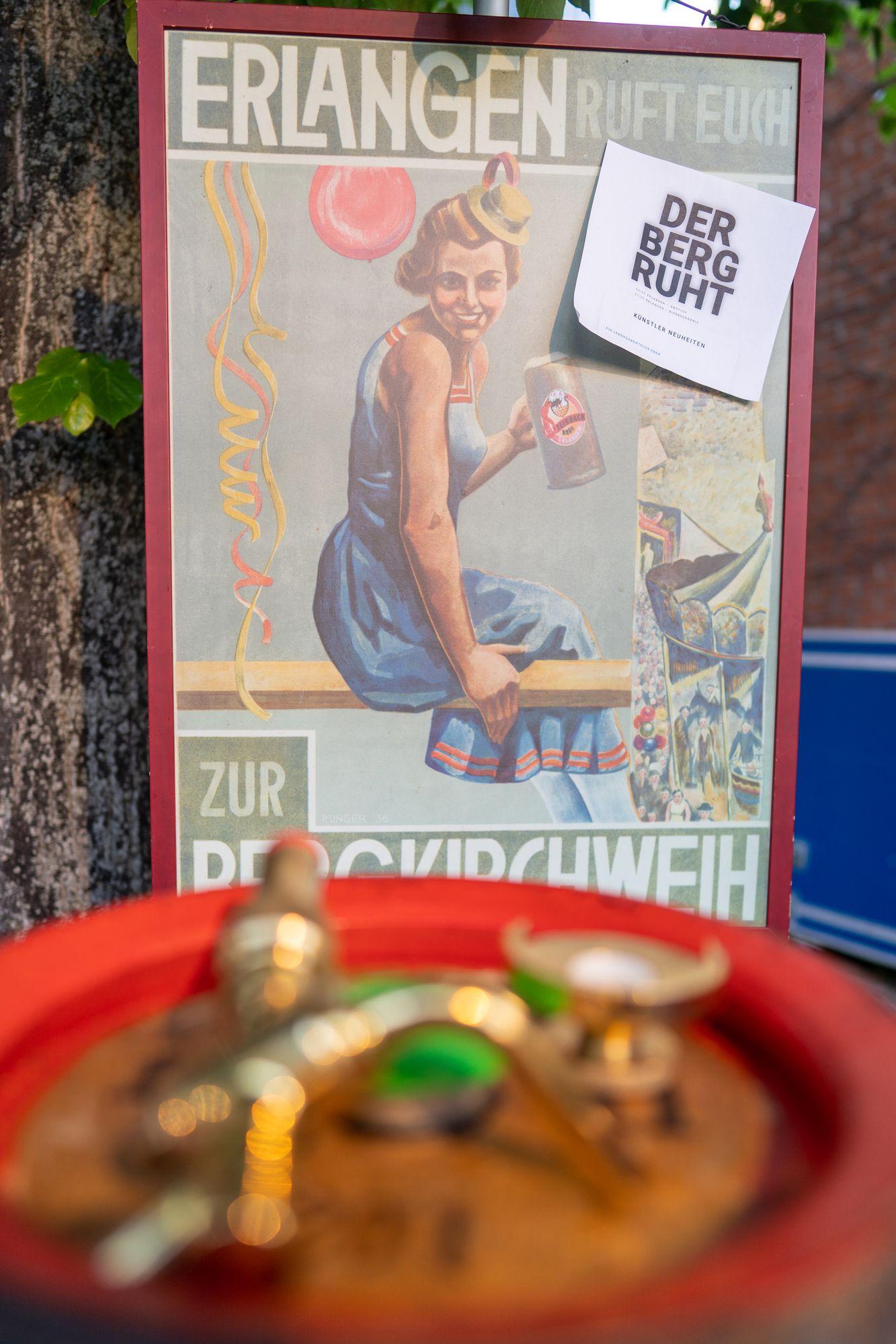 "Steinbach Bergbier 2021 - ""Der Berg ruht"" Erlangen 2021"