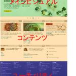 Webレイアウトの構成要素