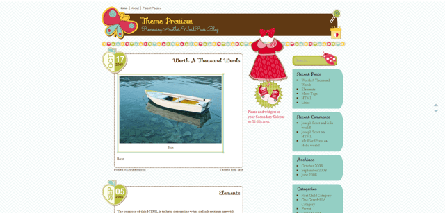 Theme Preview » Previewing Another WordPress Blog