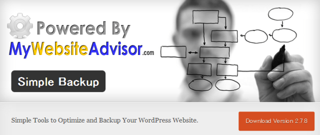 WordPress › Simple Backup « WordPress Plugins (1)