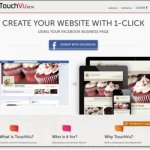 TouchVu:Facebookページをウェブ化してくれる無料Webサービス