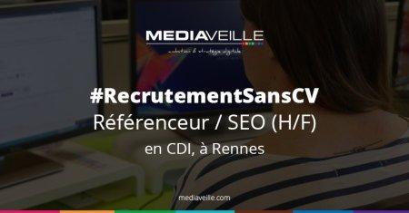 #Job offer Hello les #SEO, on recrute sans CV ! Tu cherches un job à #Rennes ? C...