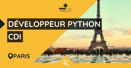 [#Emploi] Nous recherchons un #Développeur #Python #Web pour un client qui aide ...