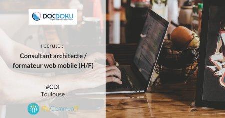 #i4emploi : @docdoku recrute un(e) Consultant architecte / formateur web mobile ...