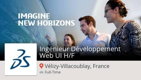 #Ingénieur Développement #Web UI H/F (#job) wanted in #VélizyVillacoublayFrance....