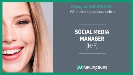[JOBS@NEURONES] Social Media Manager (h/f). Tu es passionné par les réseaux soci...