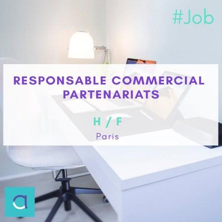 OFFRE #EMPLOI : Postulez à notre offre de #Responsable #Commercial #Partenariat...