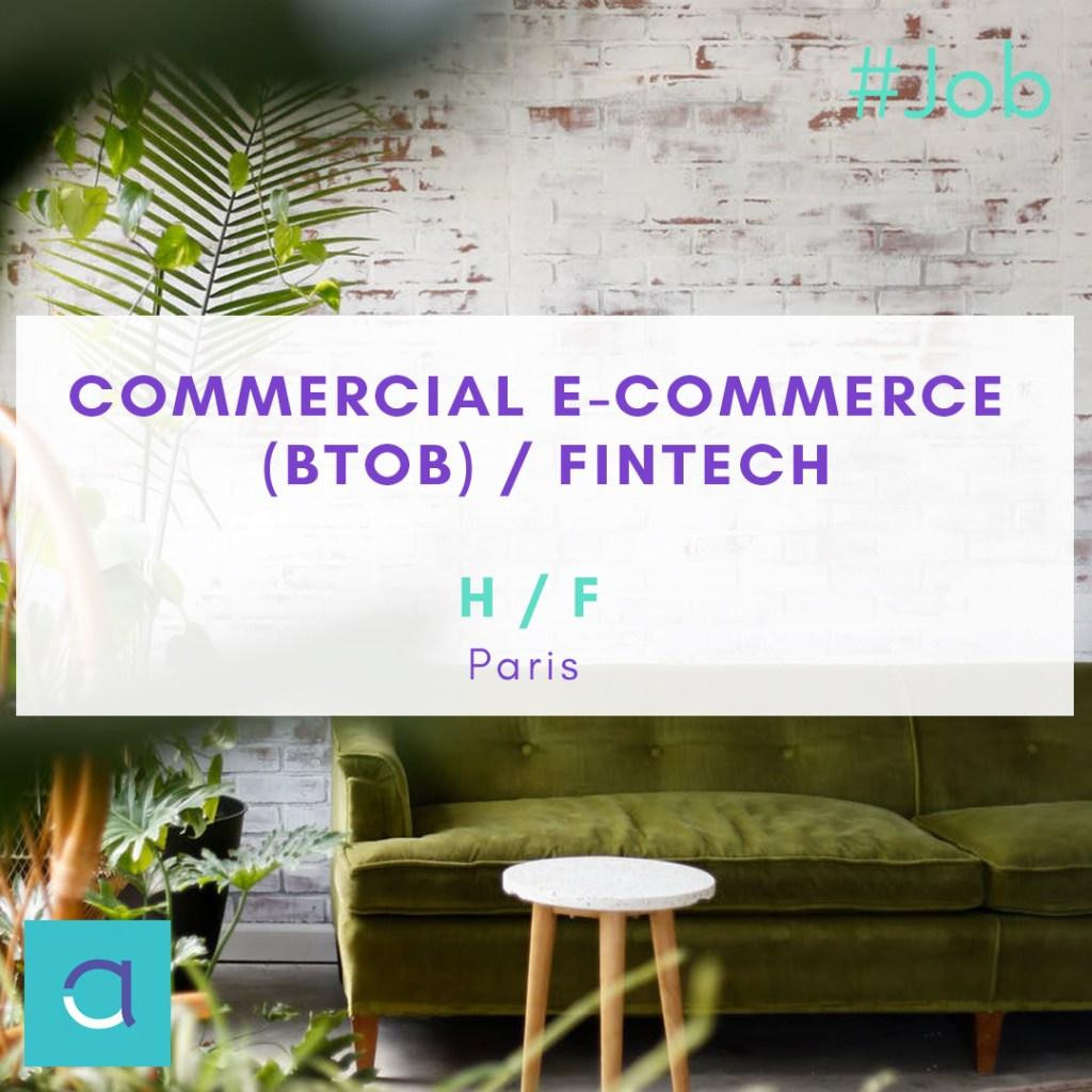 OFFRE #EMPLOI : Postulez vite à notre super poste de #Commercial #Ecommerce #Bt...