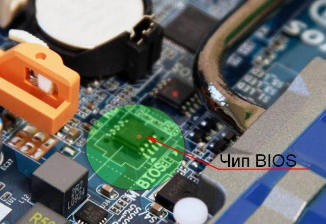 Микросхема (чип) BIOS | Интернет-профи