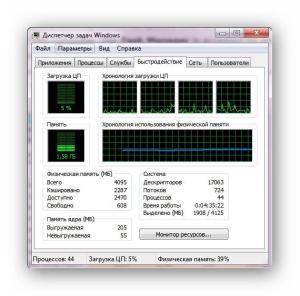 Диспетчер задач Windows   Интернет-профи