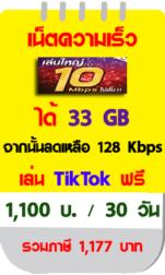 เน็ตทรู 10 Mbps 30 วัน