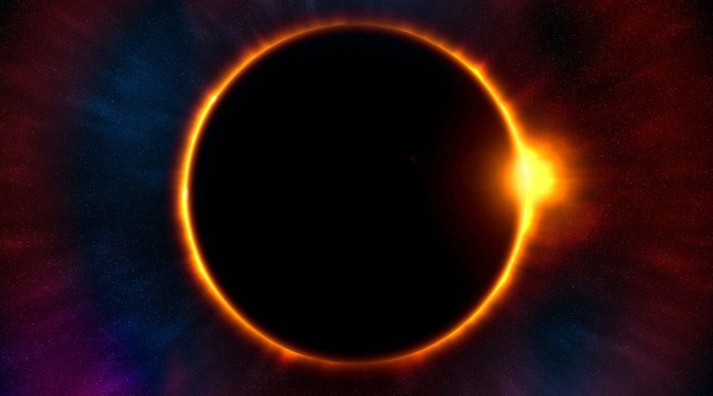 imagen de eclipse total de sol