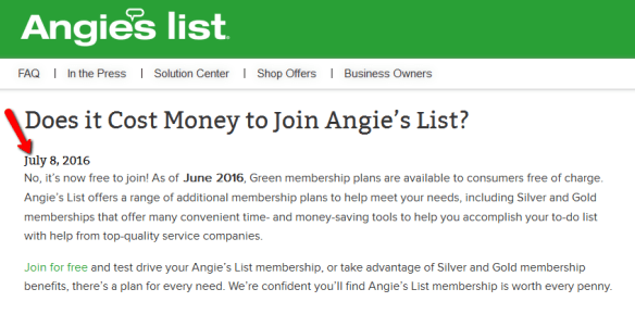 Angie's list graphic