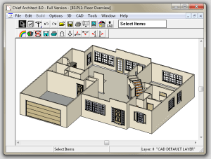 How I was able to get Chief Architect 8 to run in Windows 7
