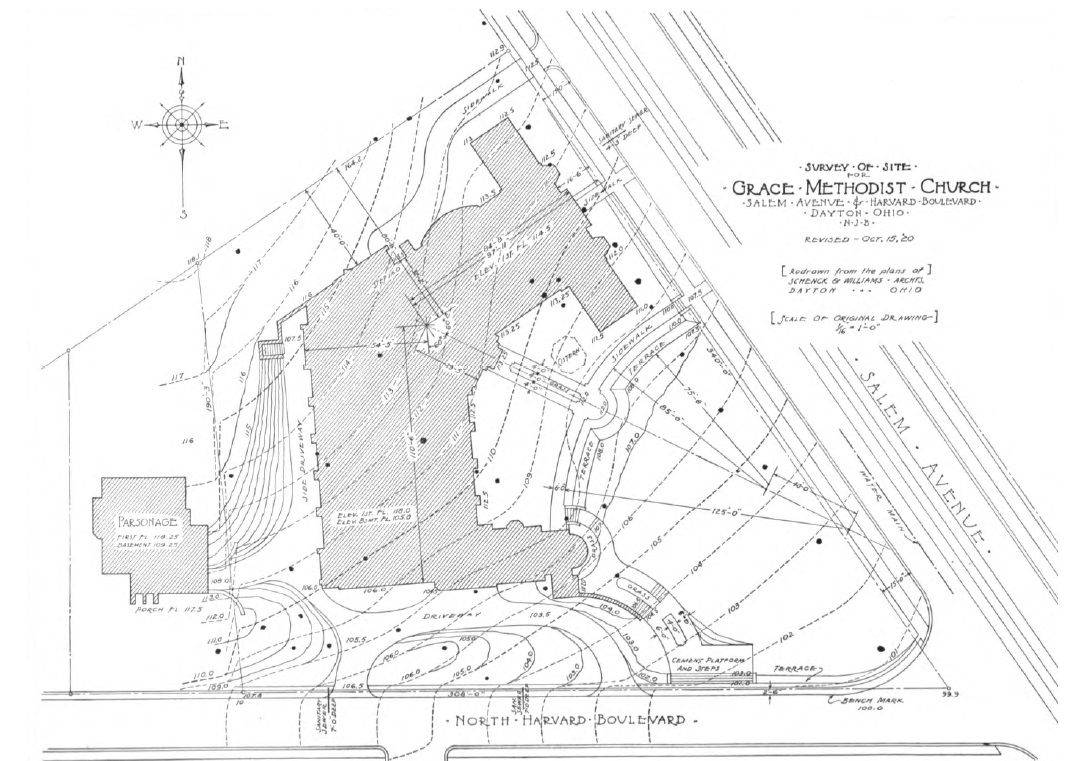 A Contour Map and Site Plan