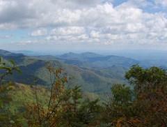 Blue Ridge from Greybeard Mountain