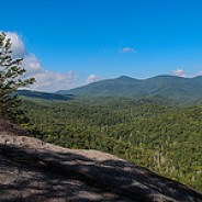 Pilot Mountain from John Rock
