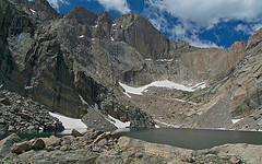 Longs Peak and Chasm Lake