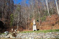 Old Chimney Along Hwy 74A